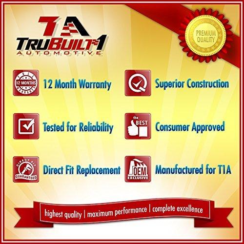 Chrome Passenger Side Rear by TruBuilt 1 Automotive T1A-25960522 GM Tahoe 07-13 Exterior Door Handle
