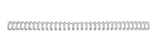 3 opinioni per GBC Cf100 Dorsi Metallici, 6 mm, Argento, 100 Pezzi