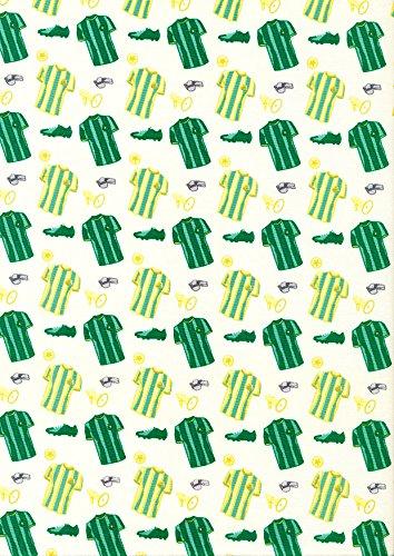 Camiseta de portería verde – 1 metro de portería, material de ...