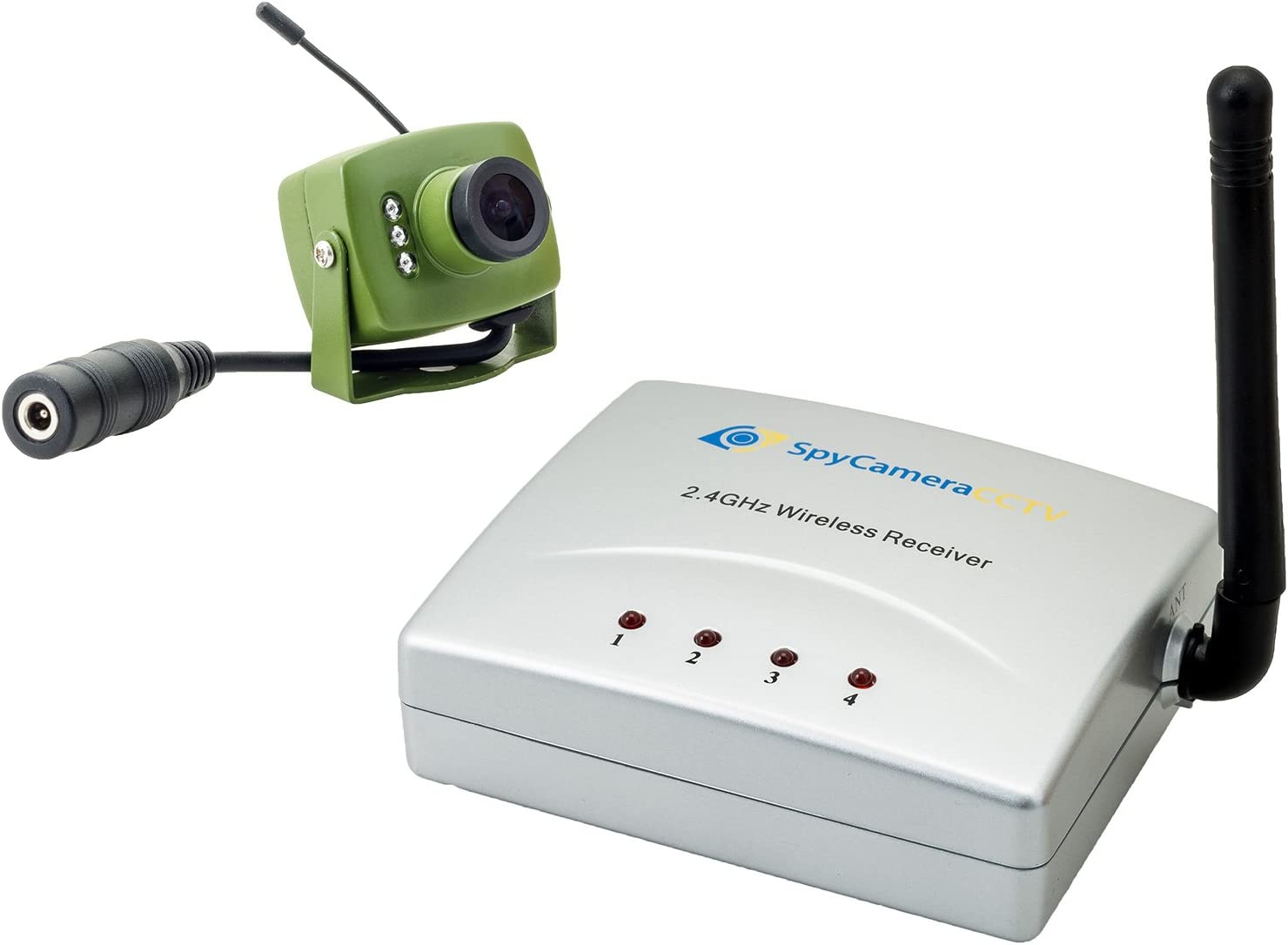 Includes 10M Power Extension Cable Green Feathers Wildlife Wireless Bird Box SD 700TVL Camera with Night Vision Wireless Receiver and Wide Angle Lens