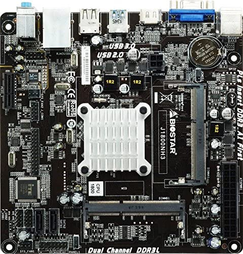 Biostar J1800NH3 NA (CPU integrada) Mini ITX - Placa Base (DDR3 ...