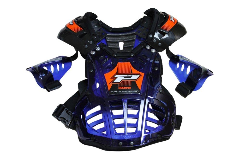PROGRIP(プログリップ) 5955 キッズ チェスト プロテクター BLUE KID'S B00XLEOBKM