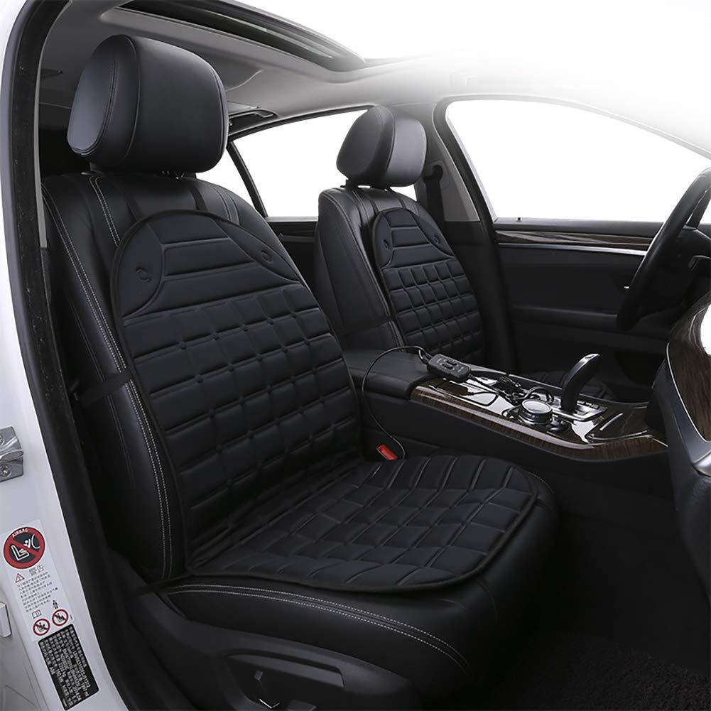 DesirePath Car Heated Seat Cover Cushion Hot Warmer Adjustable Temperature Heating Pad Pain Reliever Premium 12V Heating Warmer Pad Cover