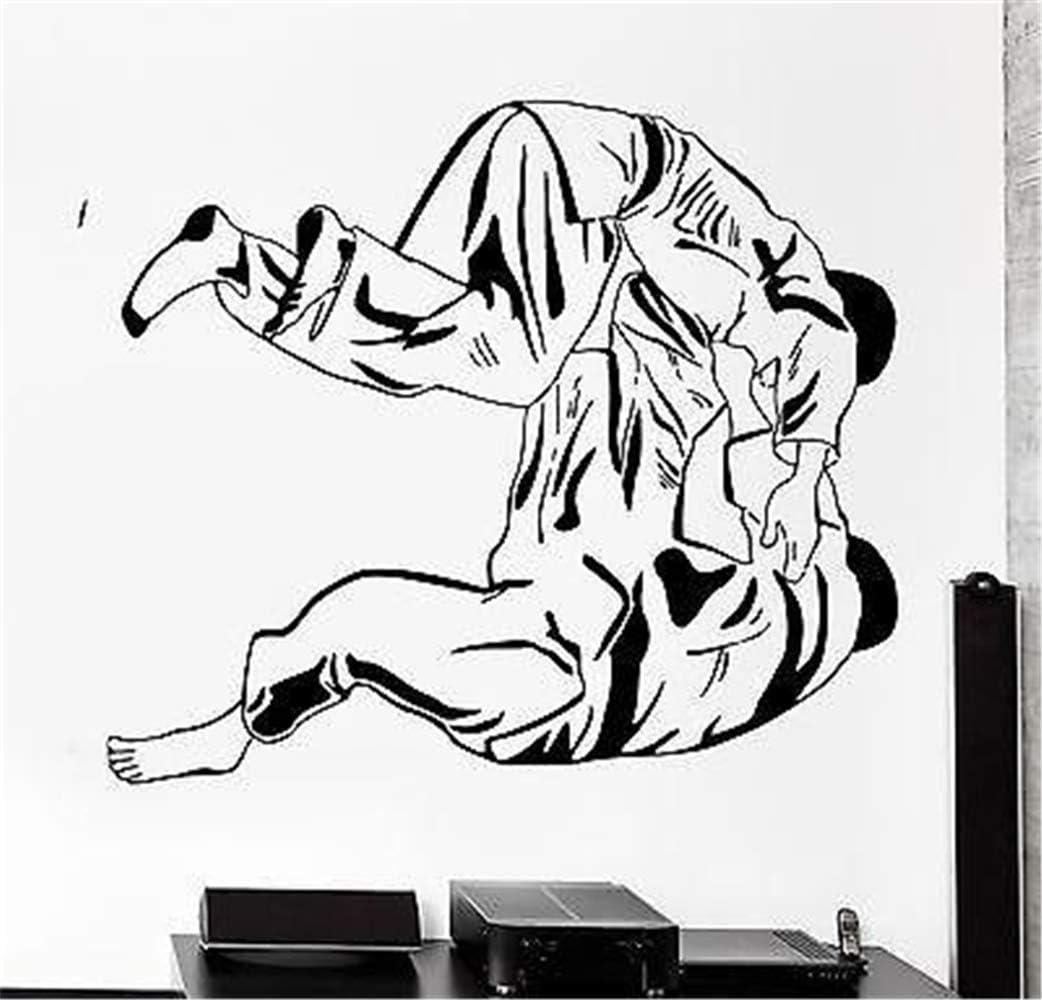 pegatinas de pared juveniles Deportes Judo Jiu-Jitsu Luchadores Luchando: Amazon.es: Bricolaje y herramientas