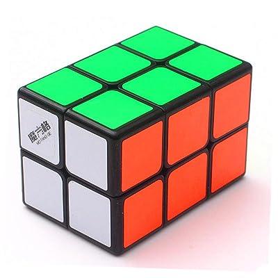 cuberspeed Qiyi 2x2x3 Black Cuboid Cube Qiyi 223 Magic Cube Tower Shaped MoFangGe 2x2x3 Magic Cube: Toys & Games