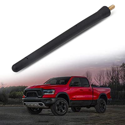Custom Replacement 6 3/4 INCH Fit Dodge RAM Trucks 1500 2500 2009-2020 Short Antenna: Car Electronics
