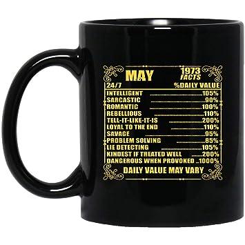 Amazon com: 73 birthday gift - May 1973 born facts mug 11oz
