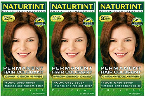 - Naturtint - Hair Dye - 5C Light Copper Chestnut | 135ml | BUNDLE by Naturtint by Naturtint