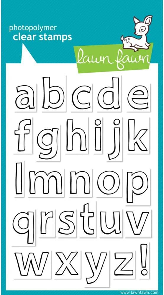 Quinns Abcs Clear Stamps Lawn Fawn