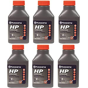 Husqvarna 2.6 oz HP Synthetic Blend 2-Cycle Engine Oil 6-Pack 593152601
