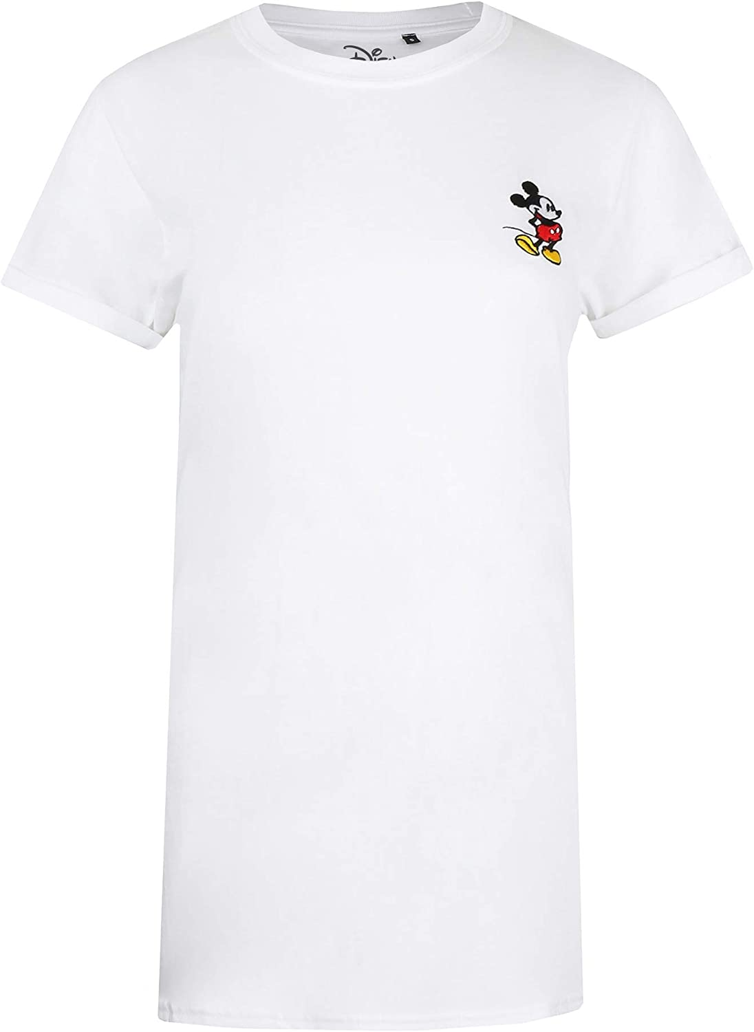 Disney Mickey Mouse Left Chest T-Shirt Donna