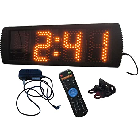 Semioutdoor LED Digital Clock 5 High Character 1224Hour Display