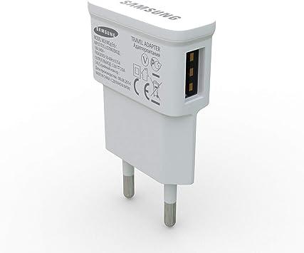 Original Samsung USB Netzteil EP TA50EWE Ladegerät Weiß 1,55A 5V hochwertiger Charger schnelles Laden & Synchronisieren für alle Geräte mit Micro USB