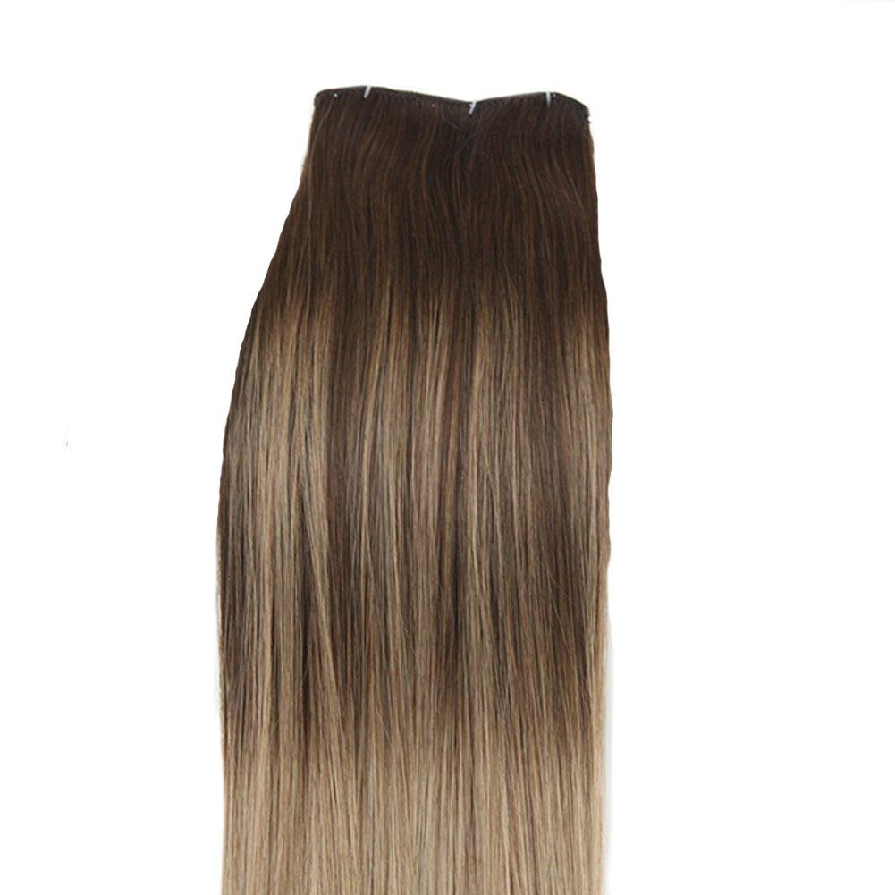 Youngsee 7 Tressen Extensions Für Komplette Haarverlängerung Clips
