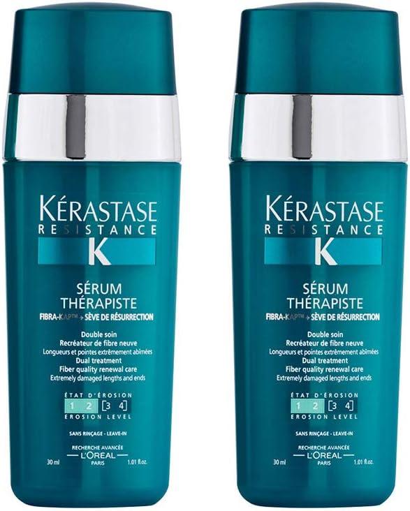 Kerastase Resistance Duo Pack: Serum Therapiste 30ml x 2: Amazon ...