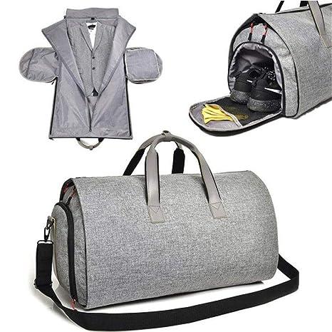 Traje de maleta colgante 2 en 1 Bolsas de viaje, Bolsas de ropa ...