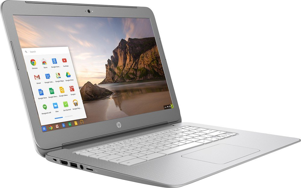 Newest HP 14-inch Chromebook HD SVA (1366 x 768) Display, Intel Dual Core Celeron N2840 2.16GHz, 4GB DD3L RAM, 16GB eMMc Hard Drive, Bluetooth, HDMI, Stereo speakers, HD Webcam, Google Chrome OS by HP (Image #5)