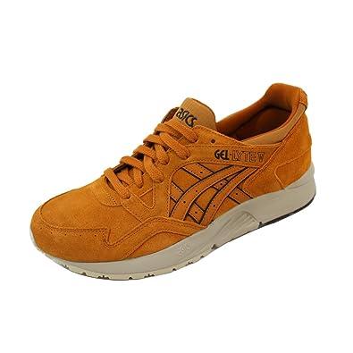 485c70d950e9 Amazon.com   ASICS Men s Gel-Lyte V Casual Shoes Brown   Road Running