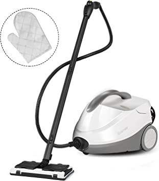 Costway Multipurpose Steam Cleaner With 17 Accessories 2000w Heavy Duty Steamer Chemical Free Cleaning 1 5l Dual Tank Cleaning Machine For Carpet