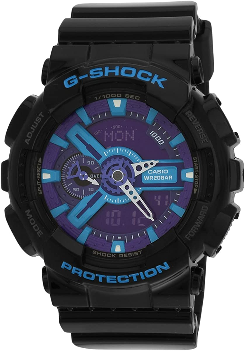 CASIO watch G-SHOCK Hyper Colors GA-110HC-1A Men s
