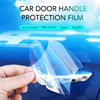 SOLDOUT™ Invisible Car Door Handle Films Protective Scratch Protector Transparent External friction protection (Pack of…