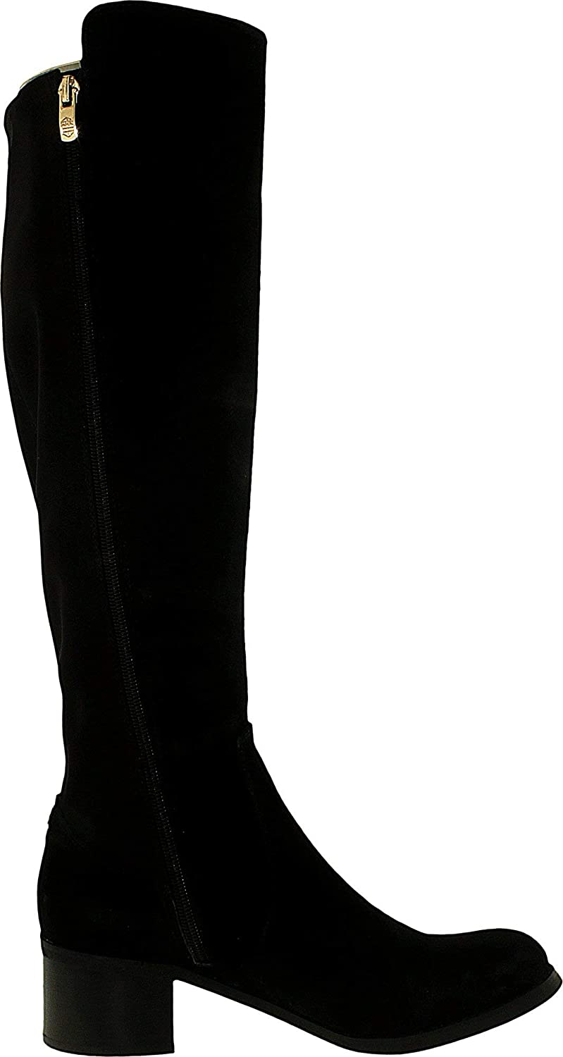 258cfbcebe0 Vince Camuto Women's Francel Verona/Neoprene Knee-High Suede Boot