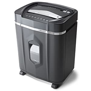 Aurora AU1210MA Professional Grade High Security 12-Sheet Micro-Cut Paper/CD and Credit Card/ 60 Minutes Continuous Run Time Shredder