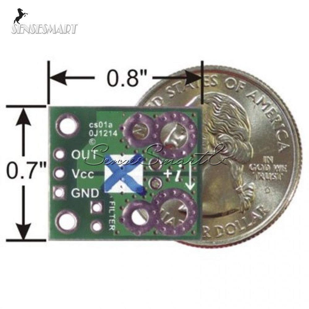 5A Range Current Sensor Carrier Module ACS714 4.5V-5.5V Board For Arduino