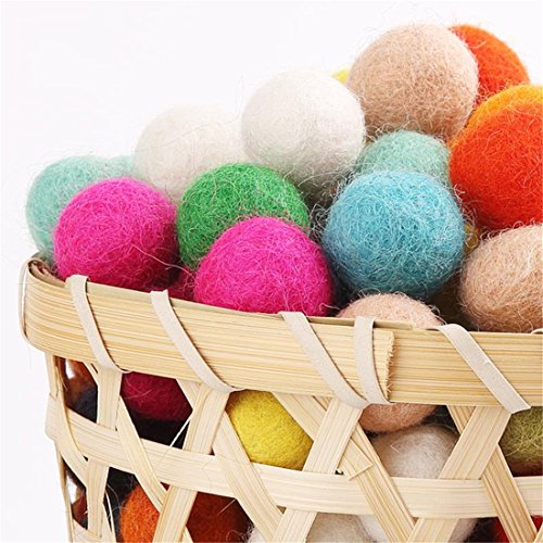 felt-balls-beads-200pc-wool-felt-ball-20mm-multicolors-flocking-ball-wool-balls-colourful-beads