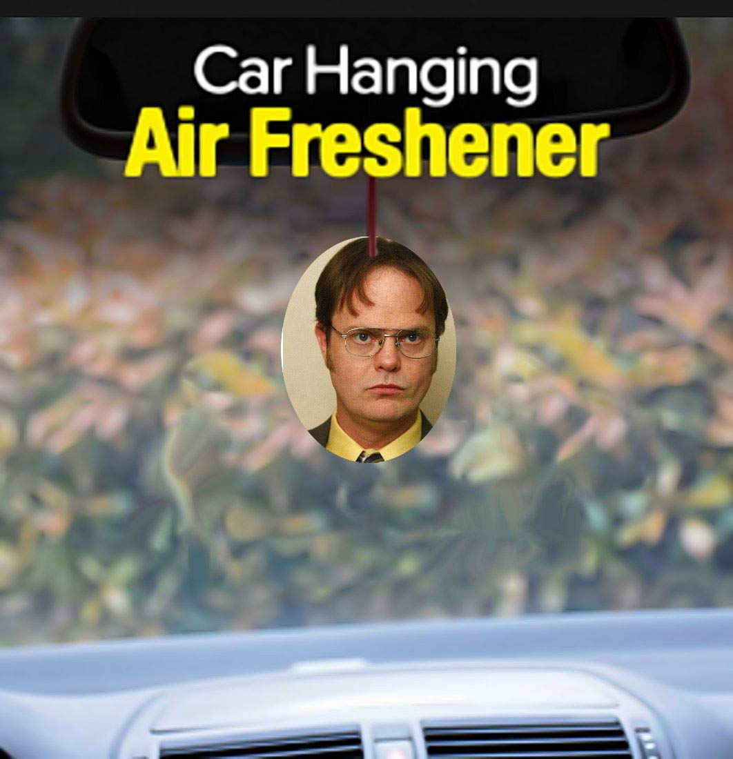 The Office Official Dwight Schrute Promo Car Air Freshener Promo Limited Edition