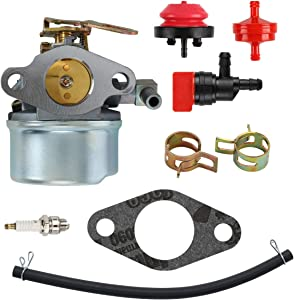mdairc 640084B Carburetor for Tecumseh 5HP MTD 632107A 632107 640084 640084A For TORO 521 Snow Blower HSSK40 HSSK50 HS50 LH195SA - For Tecumseh 632107 Carburetor LH195SA)