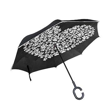 Amazon.com: Paraguas inverso Hipster Sport pelota de tenis ...