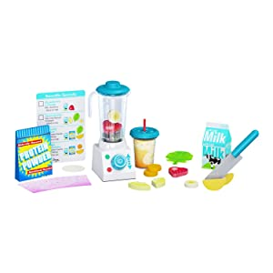 "Melissa & Doug Smoothie Make Blender Set, Helps Develop Motor and Social Skills, 24 Pieces, 10.5"" H x 4.25"" W x 13.5"" L, Multicolor"