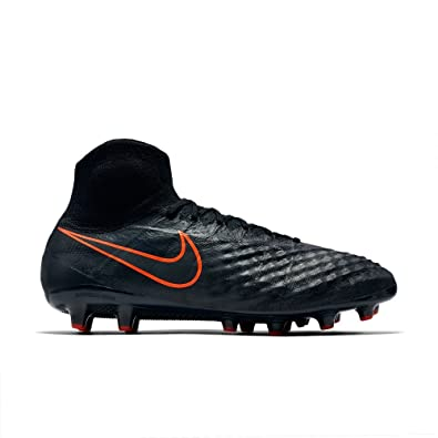 08ee75df9288 Image Unavailable. Image not available for. Color  Nike Mens Magista Obra  II Artificial Grass Cleats  Black  ...