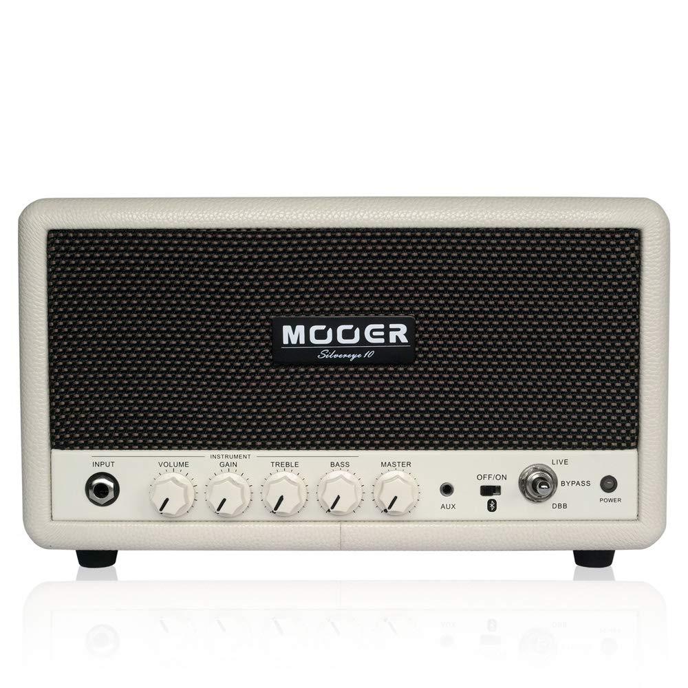 【最新入荷】 Mooer (ムーアー) (ムーアー) Silvereye 10/ 多機能プラクティスアンプ! 10W × ハイクオリティBluetoothオーディオ/ × ギターアンプ B07G94T3MT, 喬木村:93ef636c --- a0267596.xsph.ru