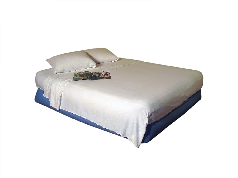 Colchón Hinchable (Essentials Juego de sábanas, algodón, Blanco ...