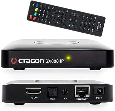 Octagon SX888 H265 Mini receptor de caja IPTV con Stalker, lista de reproducción m3u, VOD, Xtream, WebTV [USB, HDMI, LAN] Full HD [negro]: Amazon.es: Electrónica