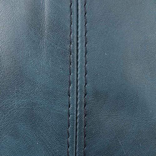 Wilson invierno By In Piel Visera Verano De Lierys Con Made Gorra Gorro Brushstroke Italy Hombre Ivy Azul Forro fRaXxt