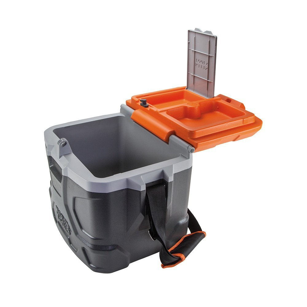 Work Cooler 17-Quart, Keep Cool 30 Hours, Seats 300 Pounds, Tradesman Pro Tough Box Klein Tools 55600 by Klein Tools (Image #4)