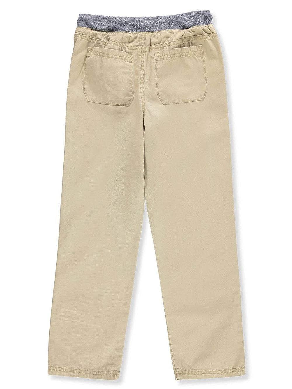 Carters Big Boys Twill Pants 8 Khaki