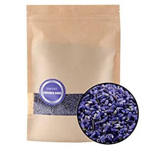 Cedar Space Dried Lavender Flower Buds Organic Lavender Flowers - Natural Premium Grade. Dried. Perfect for Tea, Lemonade, Baking, Baths. Fresh Fragrance