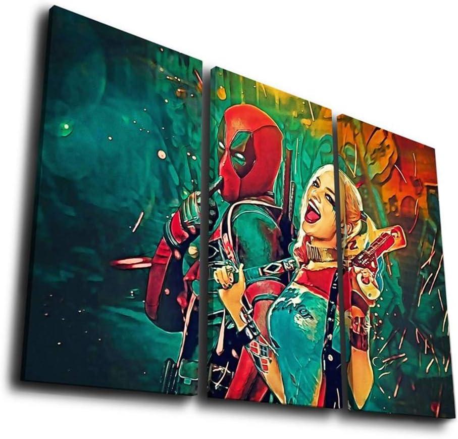 アートパネルキャラクター 現代壁の絵 壁掛け 部屋飾り 背景絵画 壁アート しゃしん 木枠付きの完成品 装飾