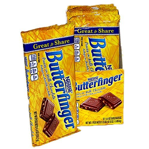 Butterfinger Pieces in Milk Chocolate Candy Bar - 12 Pack (4.4 oz.)