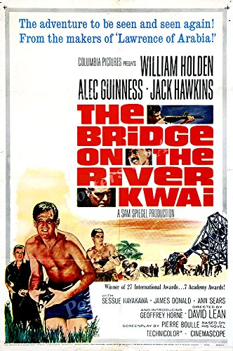 Posters USA - The Bridge on the River Kwai Movie Poster GLOSSY FINISH) - MOV246 (24