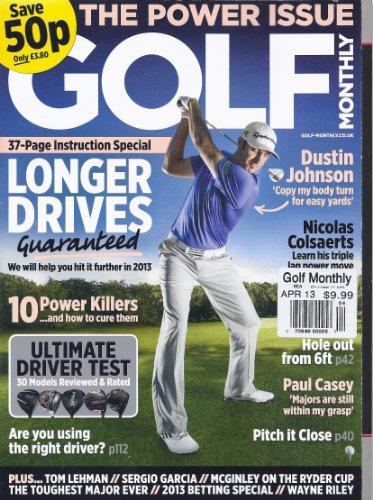 Golf Monthly Magazine - Golf Monthly Magazine (April 2013)