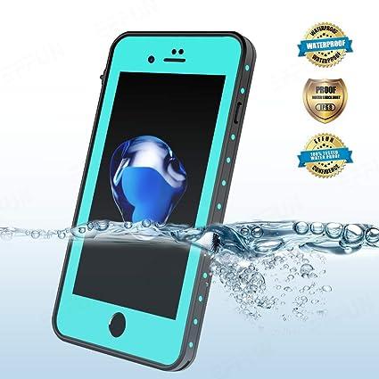 online store 55fd1 7a8e8 Amazon.com : EFFUN iPhone 8/iPhone 7 Waterproof Case, Dottie Style ...