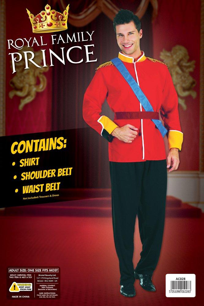 Bristol Novelty AC028 Costume da Principe Famiglia Reale Inglese