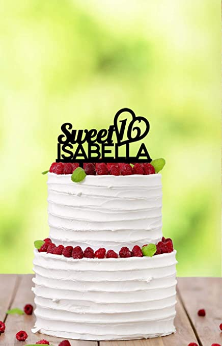 Funlaugh Sweet 16 Birthday Happy Teenage Party Teenager Teen Wedding Cake Toppers