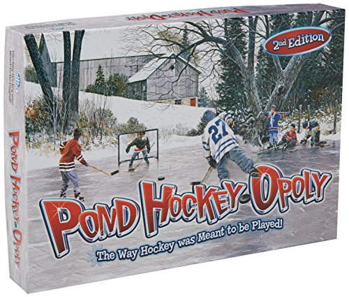 Outset Media Cobble Hill Pond Hockeyopoly 2nd Edition Game (1 Piece) - Frozen Pond Hockey