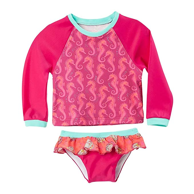 Amazon.com: OFFCORSS Baby Rashguard Shirt Girl Long Sleeve ...